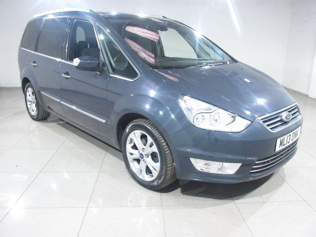 USED 2013 13 FORD GALAXY 2.0 TDCi Titanium 5dr 1 Owner / Parking Sensors