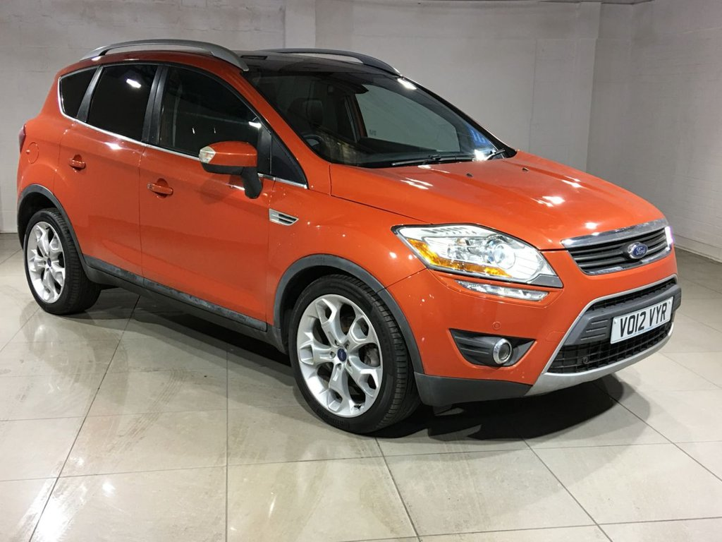 USED 2012 12 FORD KUGA 2.0 TDCi Titanium X 4x4 5dr Panoramic Roof / Nav / Leather