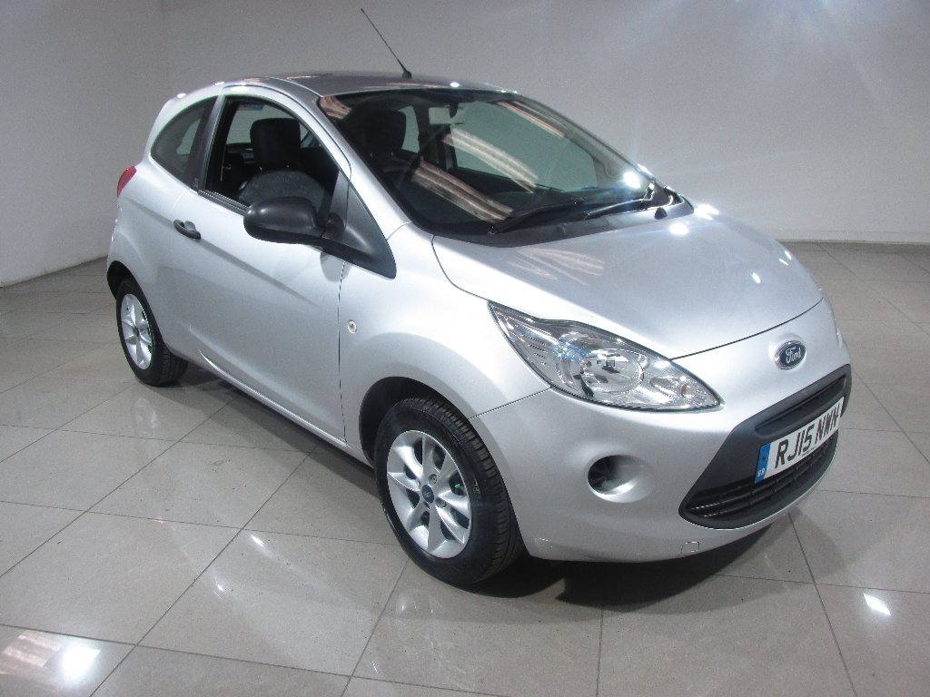USED 2015 15 FORD KA 1.2 Studio Connect 3dr Low Mileage / Ideal First Car