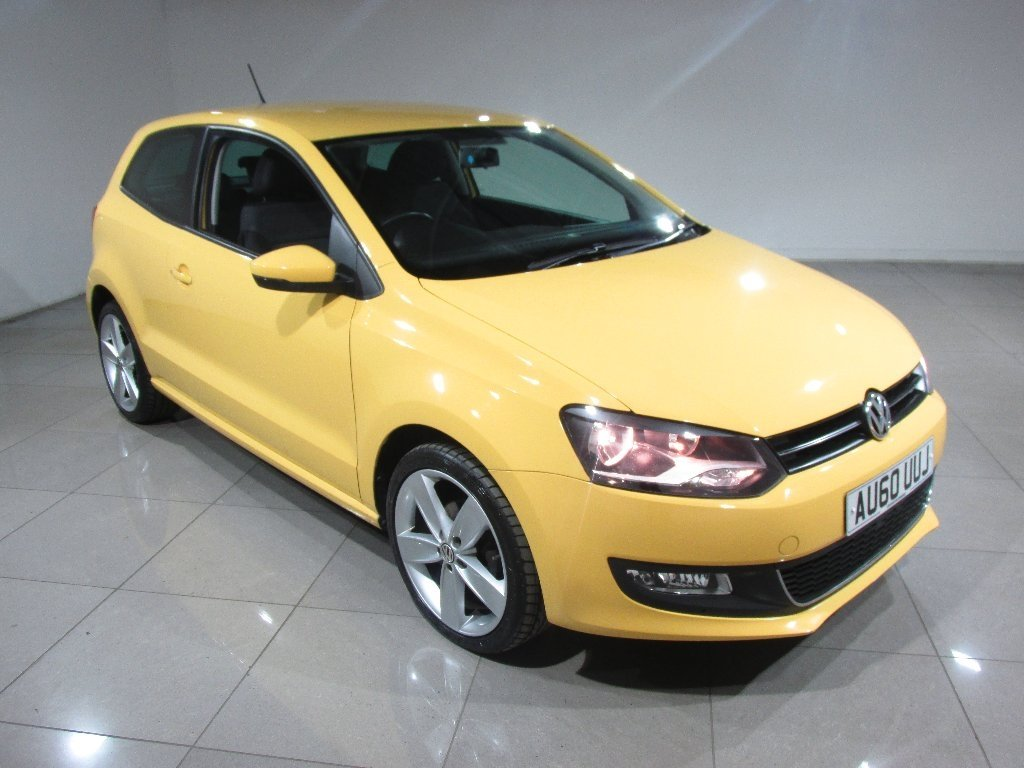 USED 2010 60 VOLKSWAGEN POLO 1.2 TSI SEL 3dr Cruise Control/Parking Sensors