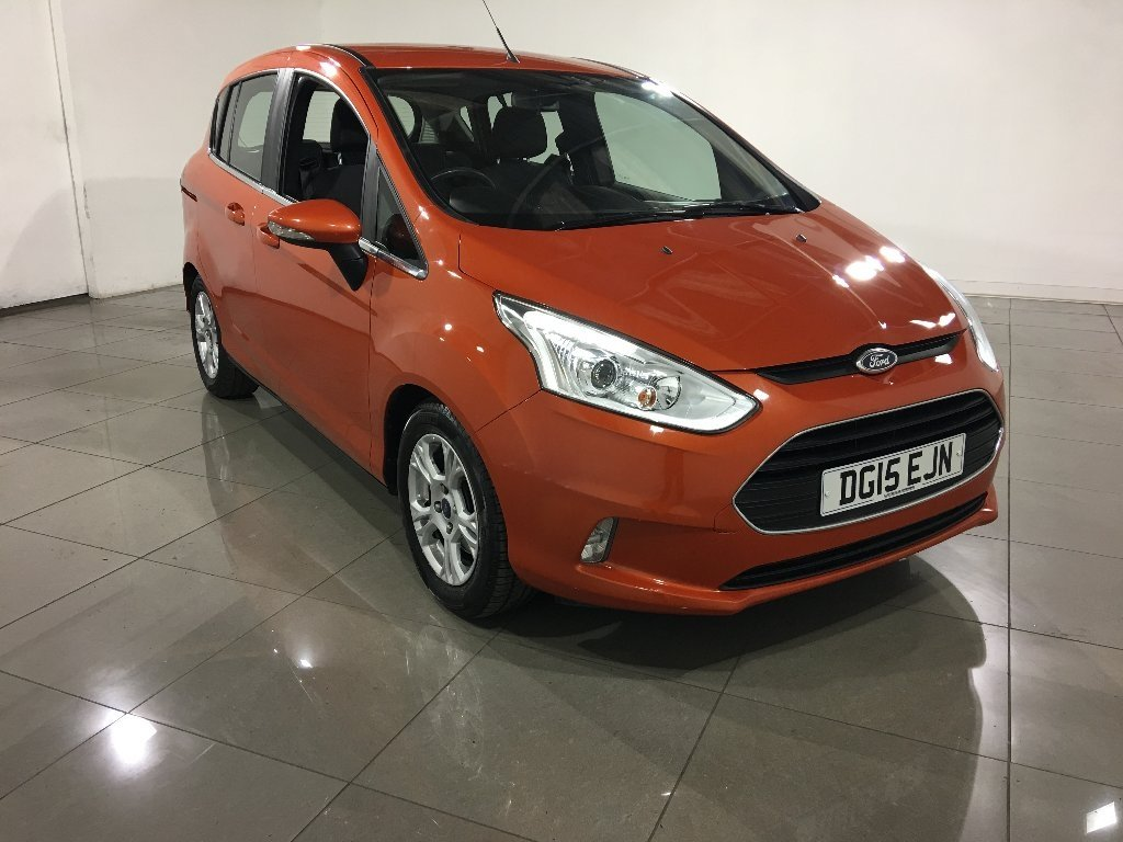 USED 2015 15 FORD B-MAX 1.6 TDCi Zetec 5dr One Owner From New