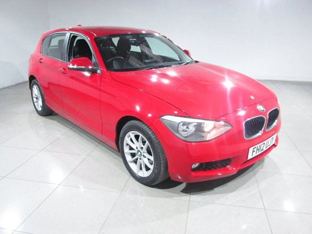 View our 2012 12 BMW 1 SERIES 2.0 116d SE 5dr