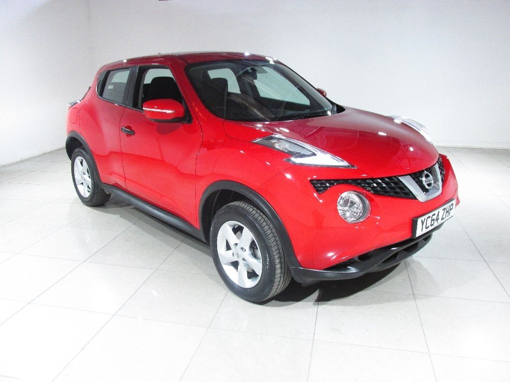 USED 2014 64 NISSAN JUKE 1.6 Visia 5dr ++ 1 OWNER FROM NEW ++
