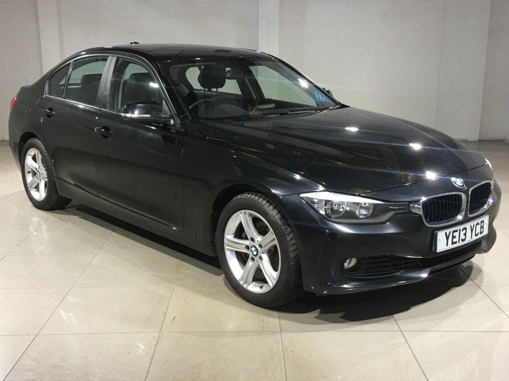 USED 2013 13 BMW 3 SERIES 2.0 320d SE 4dr (start/stop) SatNav/Black Leather/Bluetooth