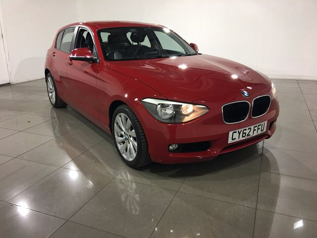 View our 2012 62 BMW 1 SERIES 2.0 120D SE 5d 181 BHP