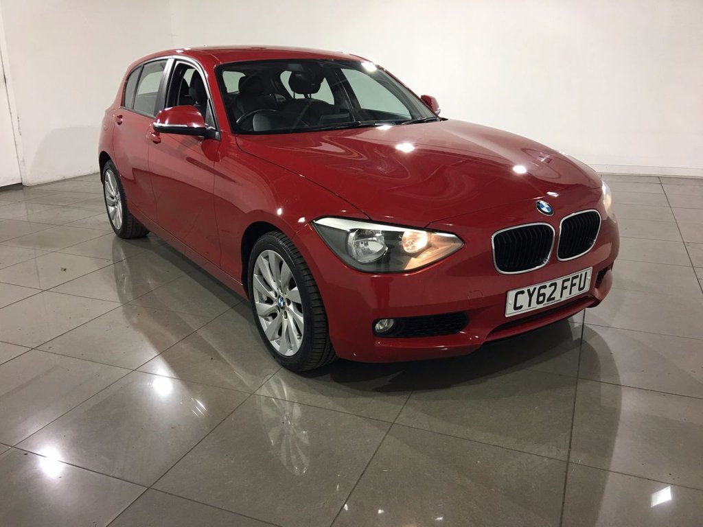 USED 2012 62 BMW 1 SERIES 2.0 120D SE 5d 181 BHP Sat Nav / One Owner From New