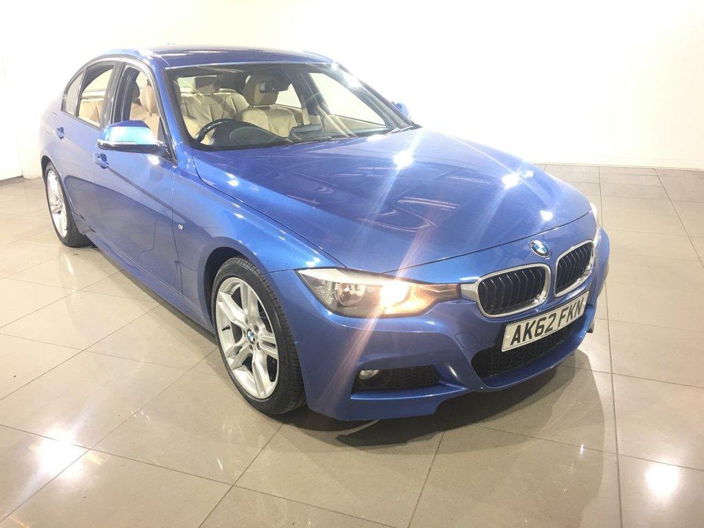 USED 2012 62 BMW 3 SERIES 2.0 320D M SPORT 4d AUTO 181 BHP