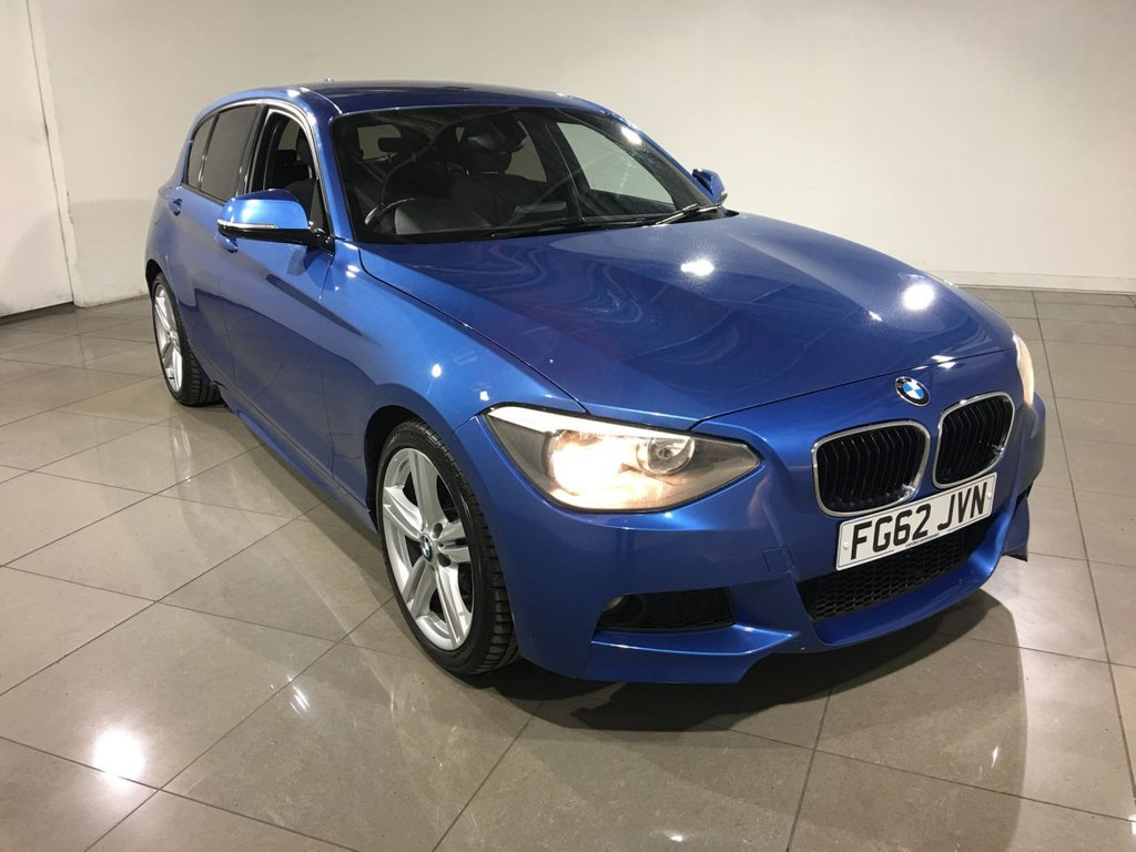 USED 2012 62 BMW 1 SERIES 2.0 120D M SPORT 5d 181 BHP