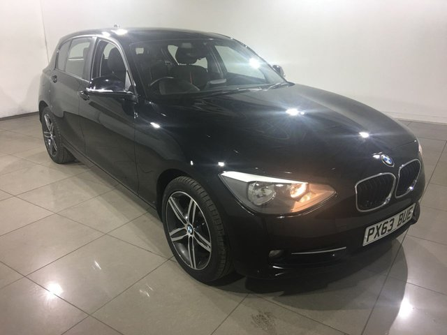 View our 2013 63 BMW 1 SERIES 1.6 114D SPORT 5d 94 BHP