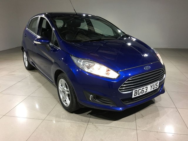 View our 2013 63 FORD FIESTA 1.0 ZETEC 5d 99 BHP