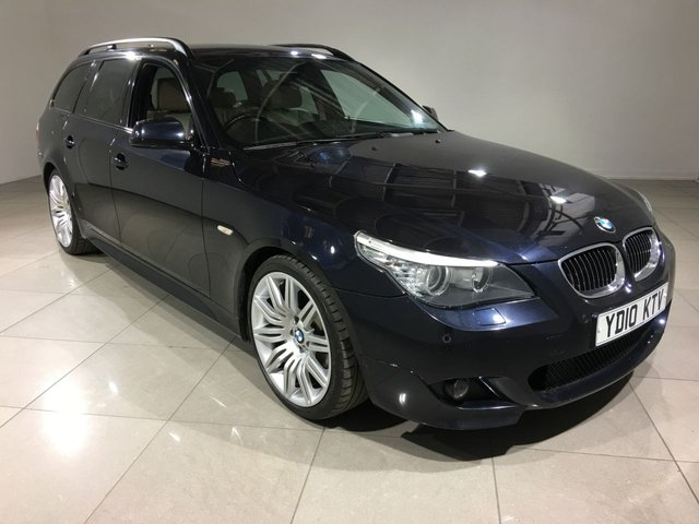 View our 2010 10 BMW 5 SERIES 3.0 525D M SPORT BUSINESS EDITION TOURING 5d AUTO 195 BHP