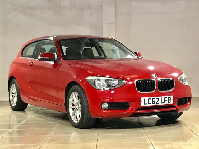 View our 2012 62 BMW 1 SERIES 2.0 118D SE 3d AUTO 141 BHP
