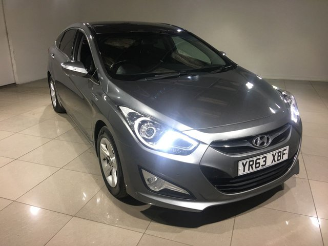 View our 2013 63 HYUNDAI I40 1.7 CRDI STYLE BLUE DRIVE 4d 114 BHP