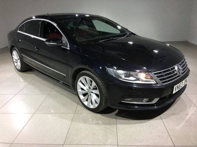 View our 2013 63 VOLKSWAGEN CC 2.0 GT TDI BLUEMOTION TECHNOLOGY 4d 138 BHP