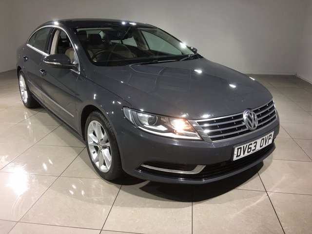 View our 2013 63 VOLKSWAGEN CC 2.0 TDI BLUEMOTION TECHNOLOGY 4d 138 BHP