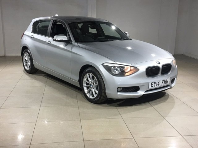 View our 2014 14 BMW 1 SERIES 2.0 120D SE 5d 181 BHP