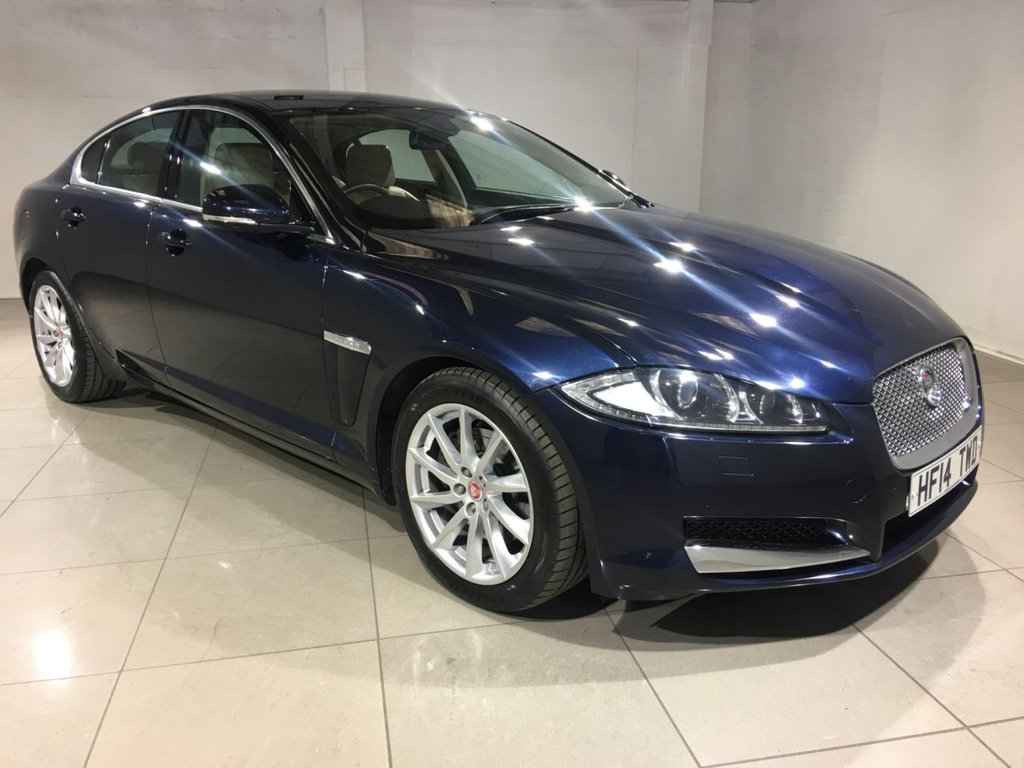 USED 2014 14 JAGUAR XF 2.2 D PREMIUM LUXURY 4d AUTO 200 BHP