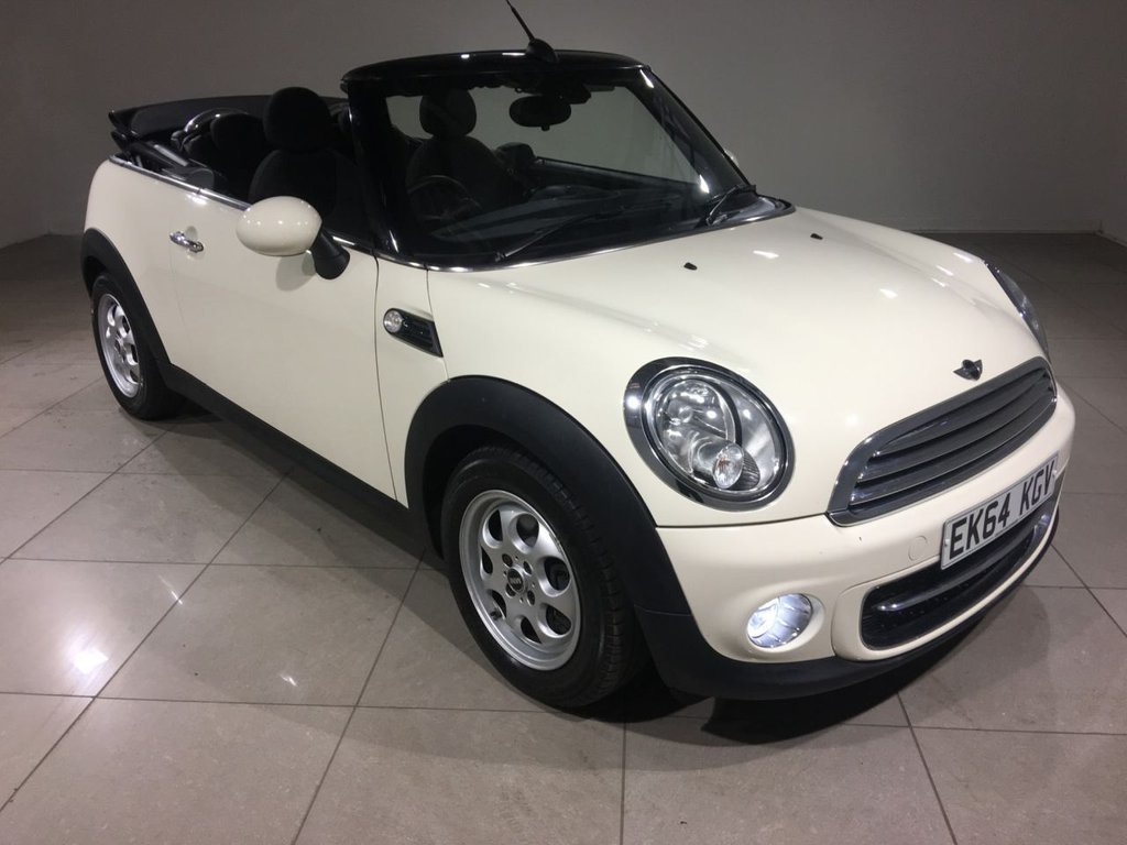 USED 2014 64 MINI CONVERTIBLE 1.6 COOPER D 2d 112 BHP