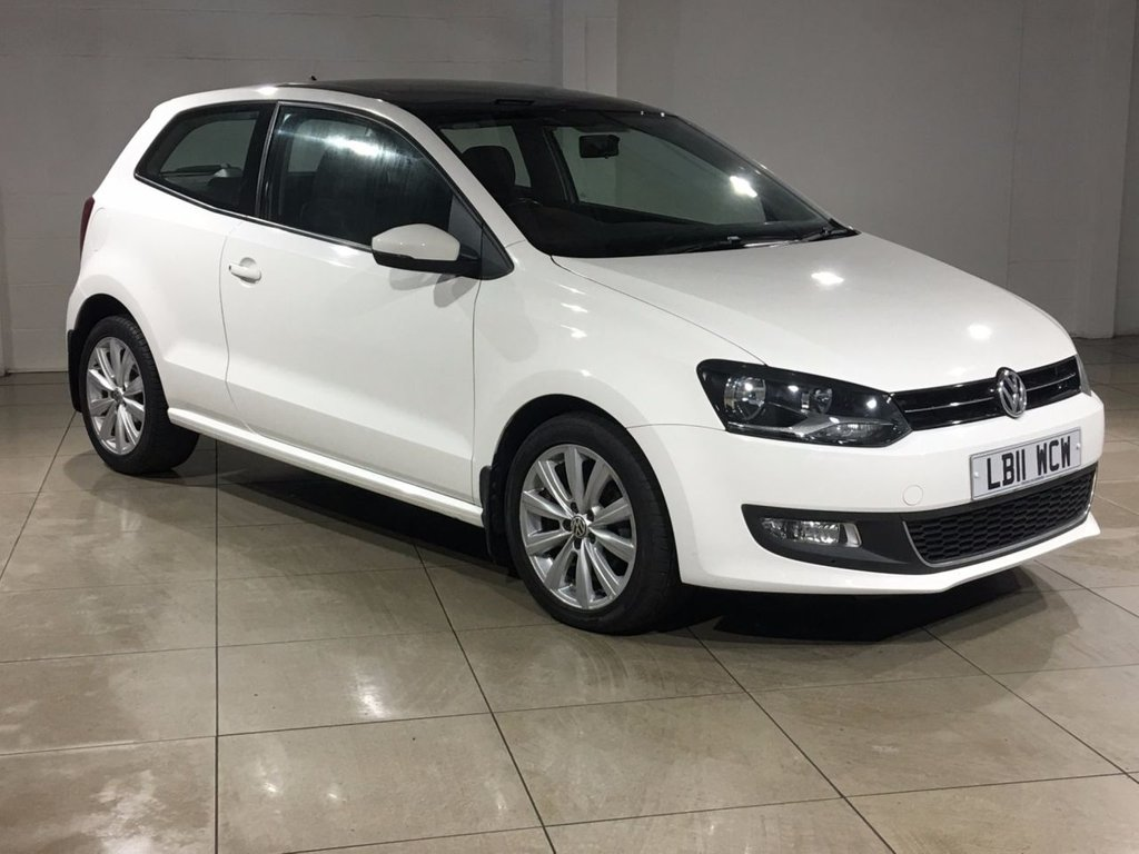 USED 2011 11 VOLKSWAGEN POLO 1.6 SEL TDI 3d 89 BHP