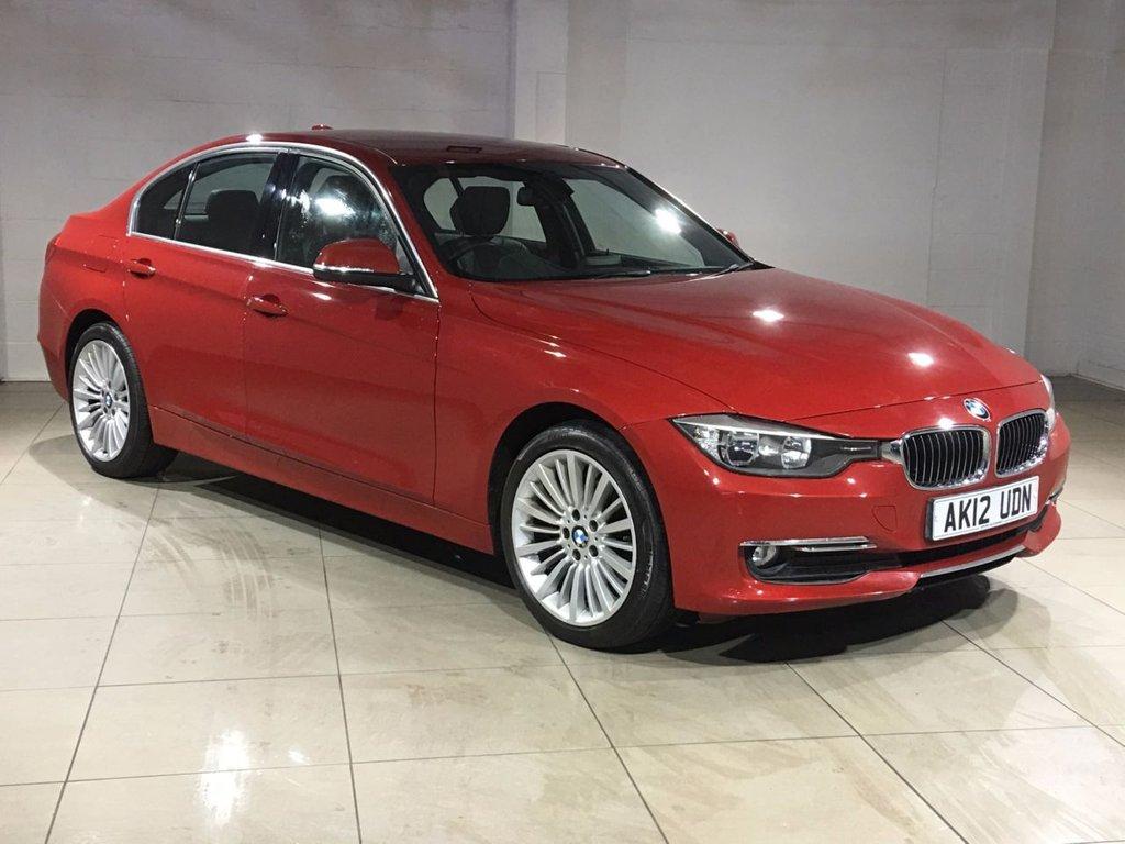 USED 2012 12 BMW 3 SERIES 2.0 318D LUXURY 4d 141 BHP