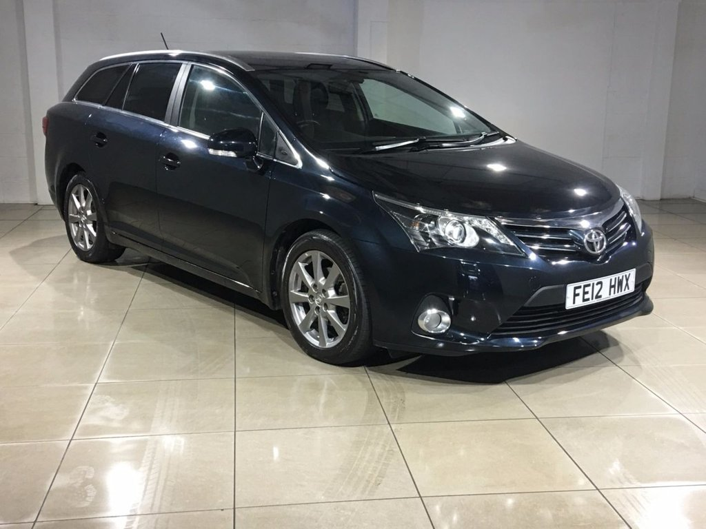 USED 2012 12 TOYOTA AVENSIS 2.0 T SPIRIT D-4D 5d 124 BHP