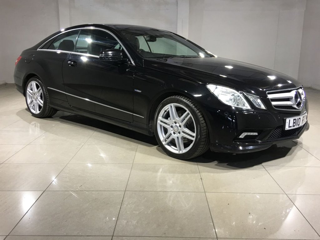 USED 2010 10 MERCEDES-BENZ E-CLASS 3.0 E350 CDI BLUEEFFICIENCY SPORT 2d AUTO 231 BHP