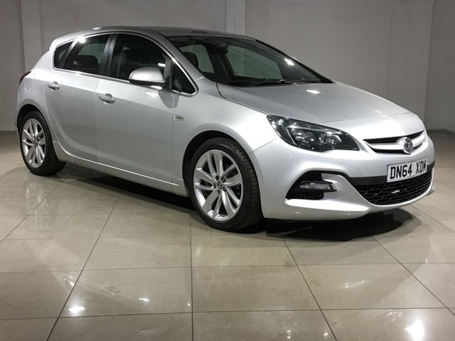 View our 2014 64 VAUXHALL ASTRA 1.6 TECH LINE GT 5d 115 BHP
