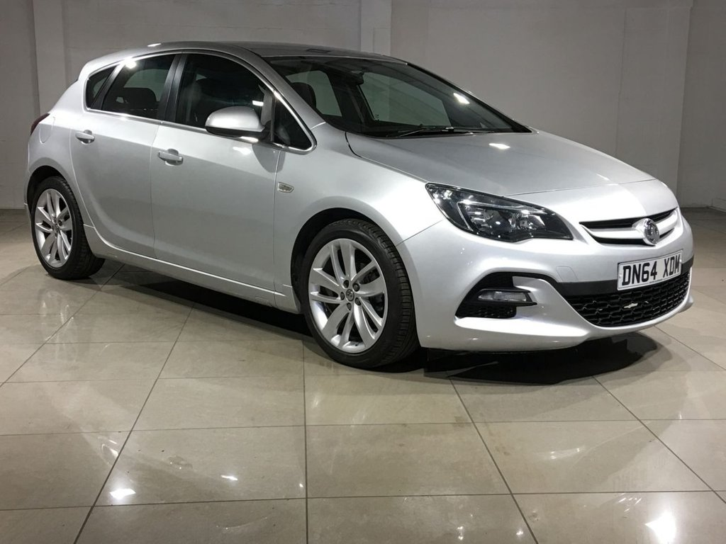 USED 2014 64 VAUXHALL ASTRA 1.6 TECH LINE GT 5d 115 BHP