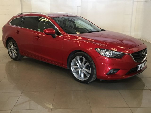 View our 2013 63 MAZDA 6 2.2 D SPORT 5d 148 BHP