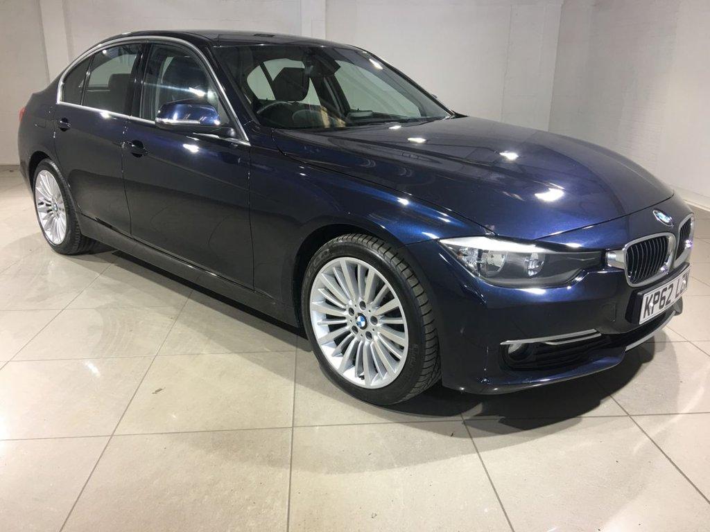 USED 2013 62 BMW 3 SERIES 2.0 320D LUXURY 4d AUTO 184 BHP