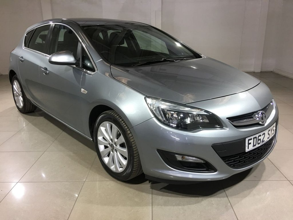 USED 2013 62 VAUXHALL ASTRA 1.6 TECH LINE 5d AUTO 113 BHP