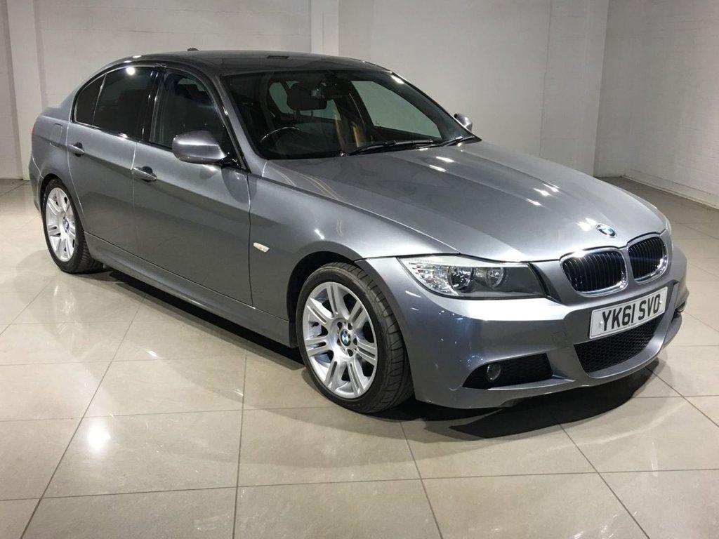 USED 2011 61 BMW 3 SERIES 2.0 320D M SPORT 4d AUTO 181 BHP