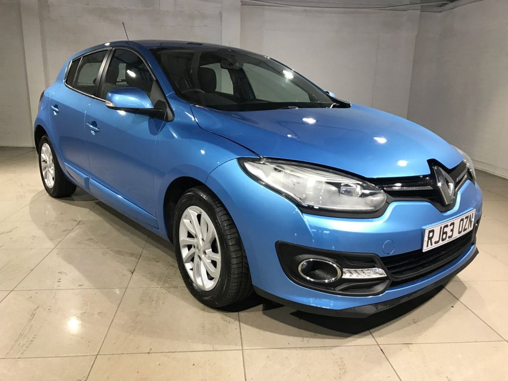 USED 2014 63 RENAULT MEGANE 1.5 EXPRESSION PLUS ENERGY DCI S/S 5d 110 BHP