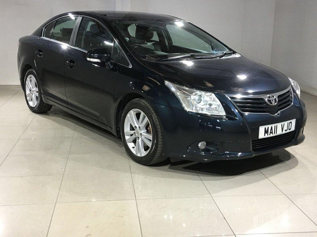 USED 2011 11 TOYOTA AVENSIS 2.0 T4 D-4D 4d 125 BHP