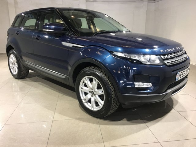 View our 2013 62 LAND ROVER RANGE ROVER EVOQUE 2.2 ED4 PURE 5d 150 BHP