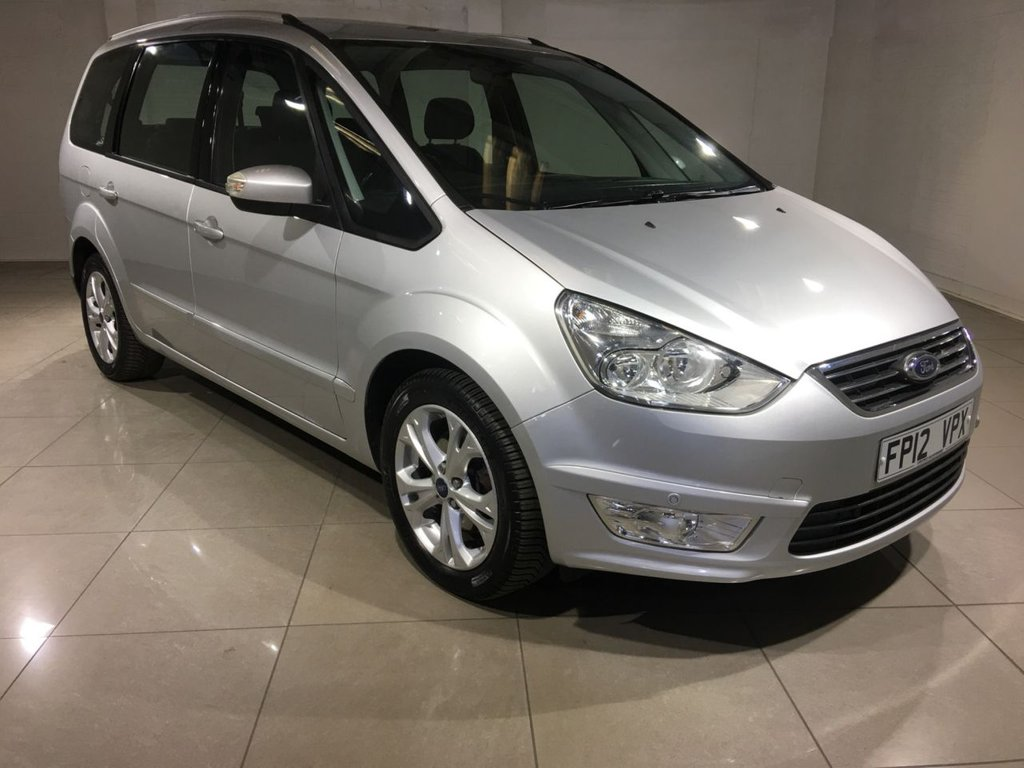 USED 2012 12 FORD GALAXY 2.0 ZETEC TDCI 5d AUTO 138 BHP