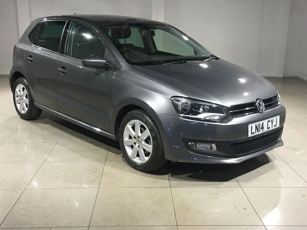 USED 2014 14 VOLKSWAGEN POLO 1.4 MATCH EDITION DSG 5d AUTO 83 BHP