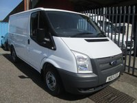 2013 FORD TRANSIT 280 SWB Low roof 100PS *ONLY 18000 MILES*1 OWNER* £8995.00