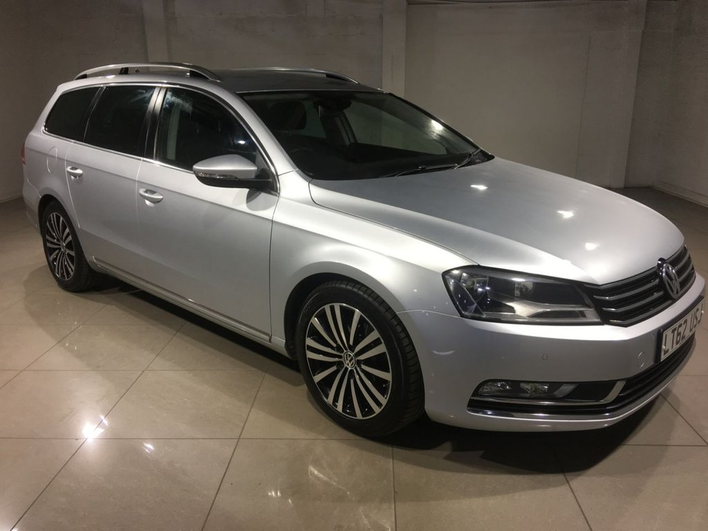 USED 2012 62 VOLKSWAGEN PASSAT 2.0 SPORT TDI BLUEMOTION TECHNOLOGY 5d 168 BHP