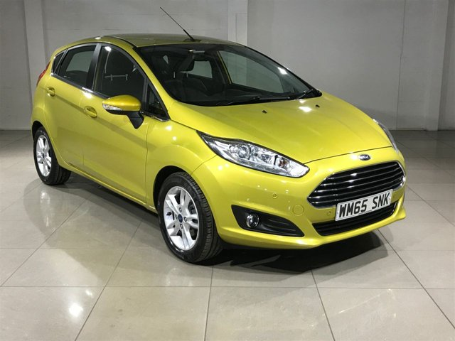 View our 2016 65 FORD FIESTA 1.6 ZETEC 5d AUTO 104 BHP