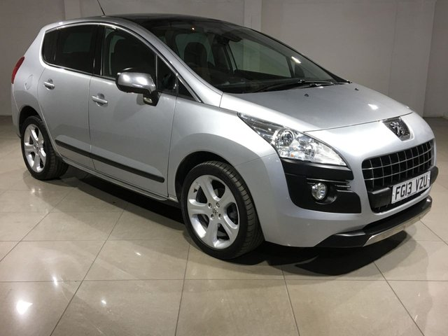 View our 2013 13 PEUGEOT 3008 1.6 ALLURE E-HDI FAP 5d 115 BHP