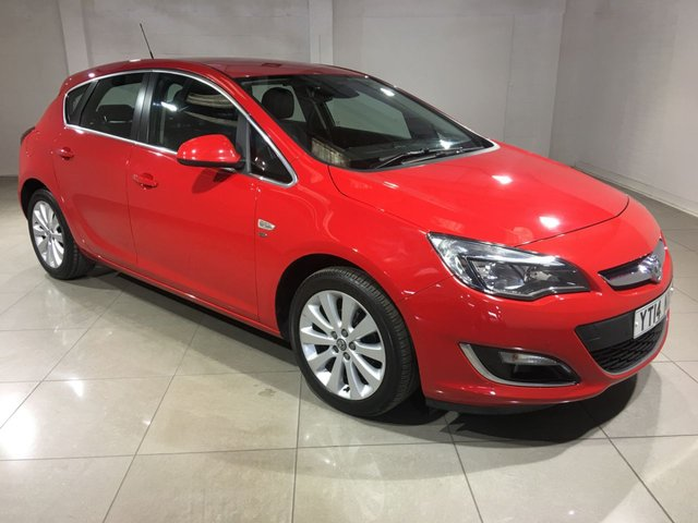 View our 2014 14 VAUXHALL ASTRA 1.6 ELITE 5d 113 BHP