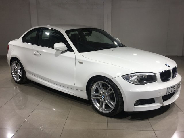 View our 2013 13 BMW 1 SERIES 2.0 118D M SPORT 2d 141 BHP