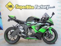 USED 2016 16 KAWASAKI ZX-6R EGFA SPECIAL EDITION  GOOD&BAD CREDIT ACEEPTED, OVER 400+ BIKES