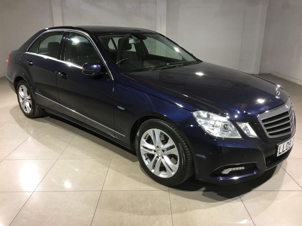 USED 2009 09 MERCEDES-BENZ E-CLASS 3.0 E350 CDI BLUEEFFICIENCY AVANTGARDE 4d AUTO 231 BHP