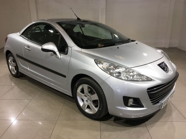 View our 2011 61 PEUGEOT 207 1.6 CC SPORT 2d 120 BHP