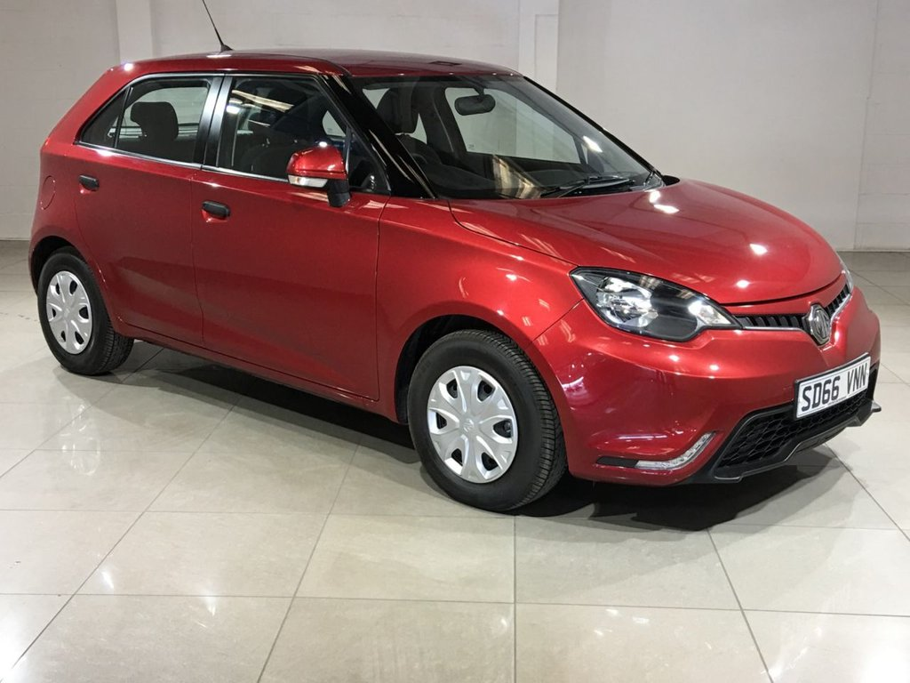 USED 2016 66 MG 3 1.5 3 TIME VTI-TECH 5d 106 BHP
