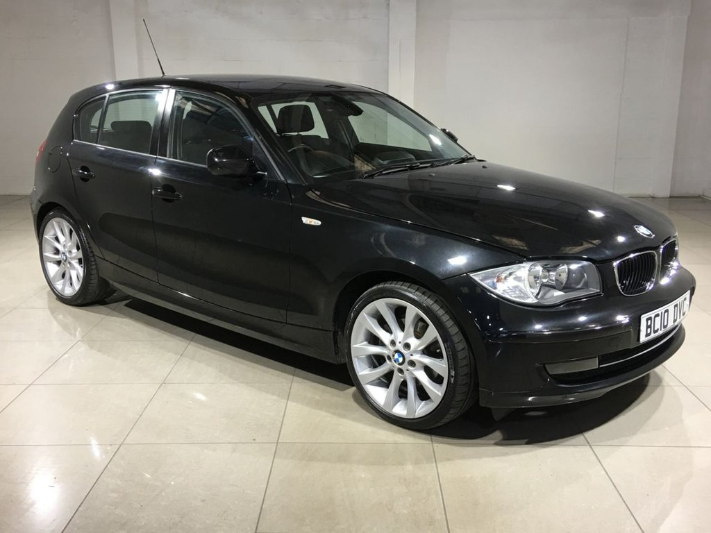 USED 2010 10 BMW 1 SERIES 2.0 118D SE 5d 141 BHP