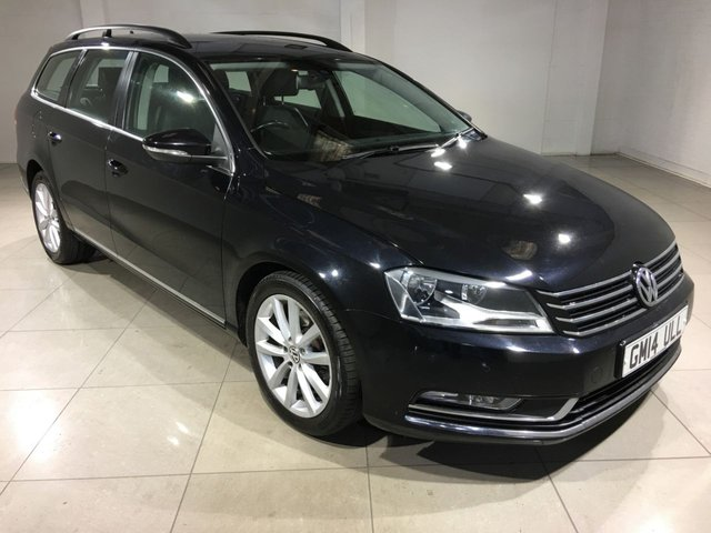 View our 2014 14 VOLKSWAGEN PASSAT 1.6 EXECUTIVE TDI BLUEMOTION TECHNOLOGY 5d 104 BHP