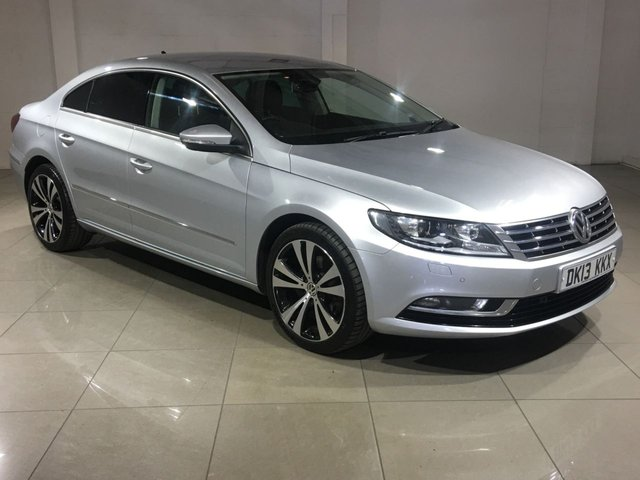 View our 2013 13 VOLKSWAGEN CC 2.0 GT TDI BLUEMOTION TECHNOLOGY DSG 4d AUTO 138 BHP